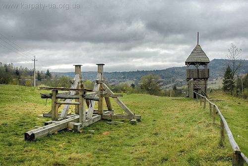 Национальный парк «Сколевские Бескиды» Оборонительные сооружения