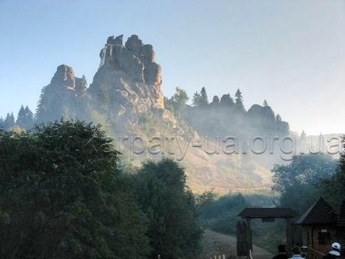 Национальный парк «Сколевские Бескиды» Тустань основной въезд