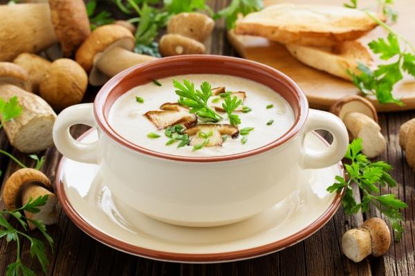Блюда грибной карпатской кухни